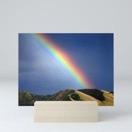 missoula marathon rainbow Mini Art Print