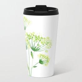 Wild flower Metal Travel Mug