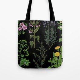 Medicinal plant Tote Bag