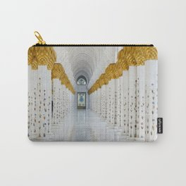 Down the golden white Carry-All Pouch