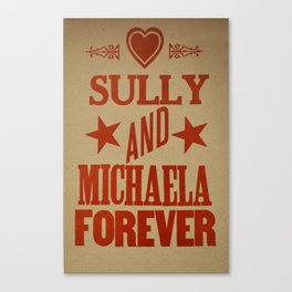 Dr. Quinn Medicine Woman Letterpress Print - Sully & Michaela Canvas Print