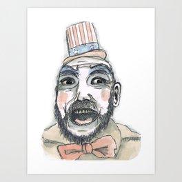 buffoon Art Print