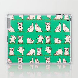 Pig Yoga Laptop & iPad Skin