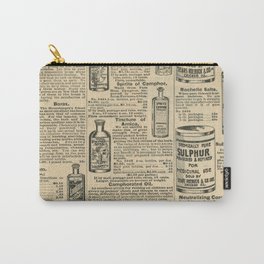 Vintage Catalogue Carry-All Pouch