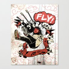 FLY! Canvas Print