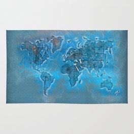 world map 109 #worldmap #world #map Rug