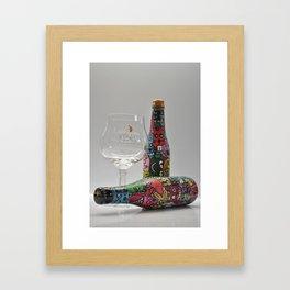 Brugse Zot Framed Art Print
