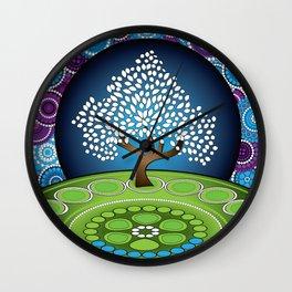 Circle Tree Of Life Wall Clock