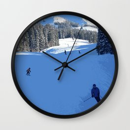 View from the lift Wall Clock