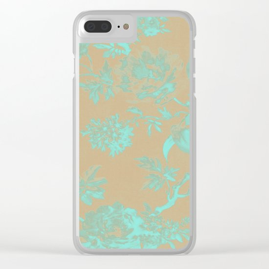 Flowers QY Clear iPhone Case