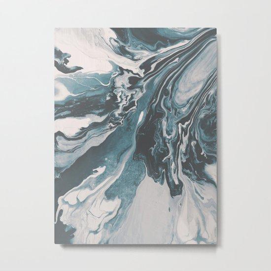 Teal (soul mate) Metal Print