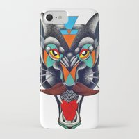 panther iPhone & iPod Cases featuring panther by Ronan Holdsworth