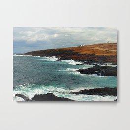 Lighthouse in Newfoundland Metal Print
