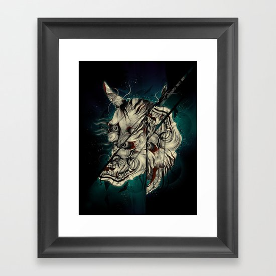 The Hanyas Framed Art Print