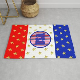 USA Stars And Stripes - United States Rug