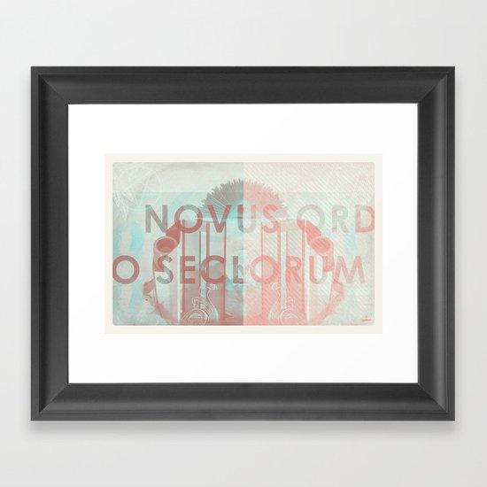 Novus Ordo Seclorum Framed Art Print