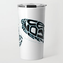 Calligram Sea Turtle Travel Mug