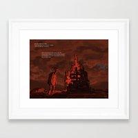 mythology Framed Art Prints featuring Mythology e01p03 by Biram Ba