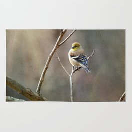 Morning Goldfinch Rug