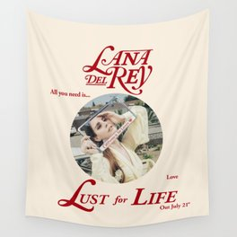 LUST FOR LIFE Wall Tapestry