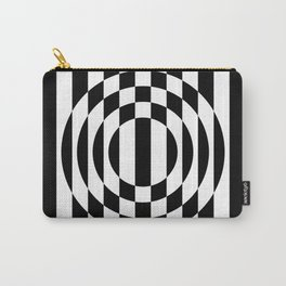 Hot Spot    Black & White Carry-All Pouch