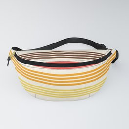 Hidenaga - Classic Retro Stripes Fanny Pack