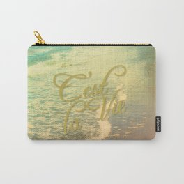 Beach Waves I - C'est La Vie Carry-All Pouch