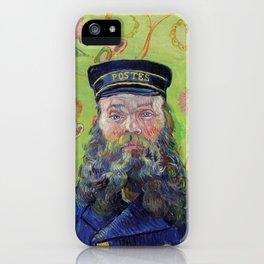 Vincent Van Gogh Postman Portrait Of Joseph Roulin iPhone Case
