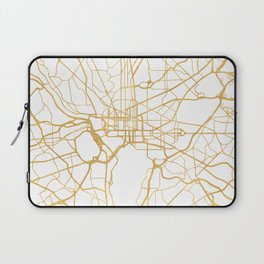 WASHINGTON D.C. DISTRICT OF COLUMBIA CITY STREET MAP ART Laptop Sleeve