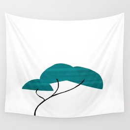 A Simple Tree Wall Tapestry
