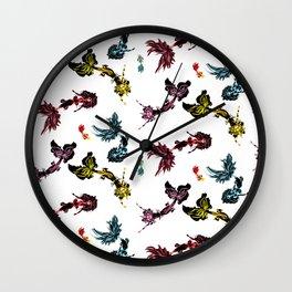 Merfolk 1 Wall Clock