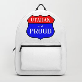 Utahan And Proud Backpack