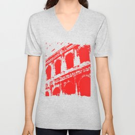 Way of the Warrior - Roman Colosseum Unisex V-Neck