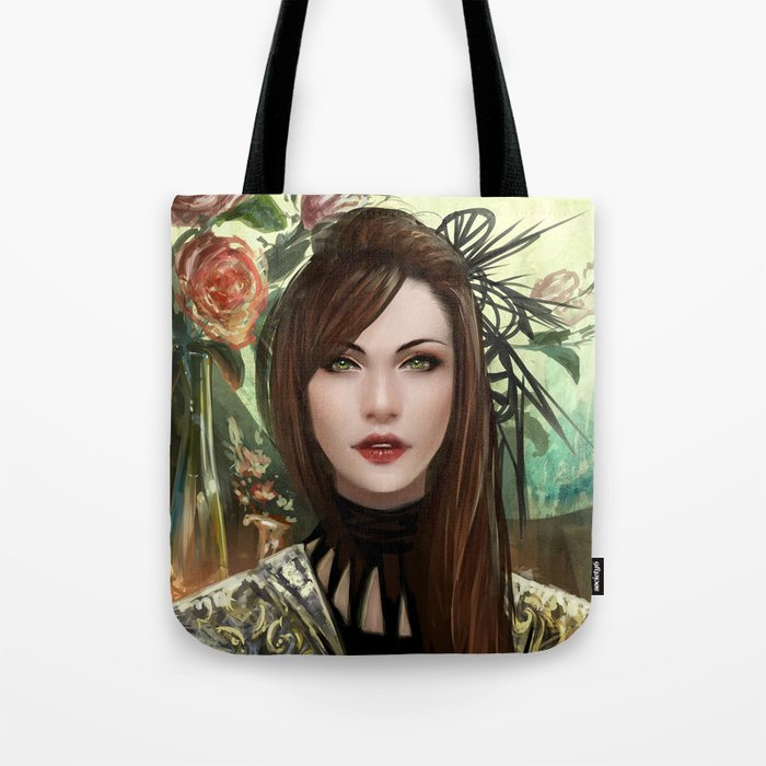 Regal - Royal portriat of an empress Tote Bag