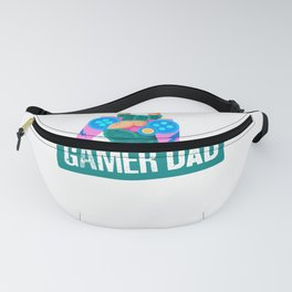 Funny Gamer Dad graphic For Video Gamer Geeks product Fanny Pack