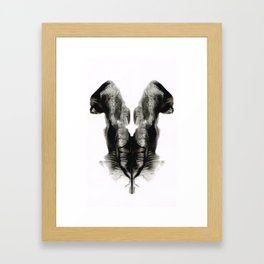 Rorschach Fantasy 6 Framed Art Print