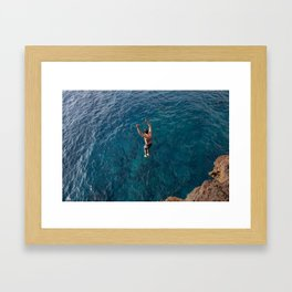 South Point Framed Art Print