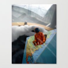 Space Man Canvas Print
