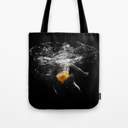 Black Water III Tote Bag