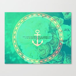 TOO MUCH, TOO WISE Canvas Print