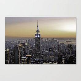NYC City Scape - New York Photography Canvas Print