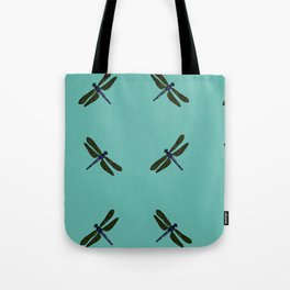 Battimamzelle Design - Blue Tote Bag