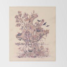 Fig Tree Island Throw Blanket