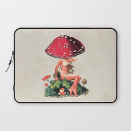Shroom Girl Laptop Sleeve