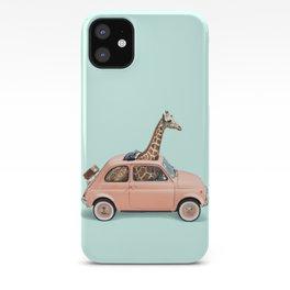 GIRAFFE CAR iPhone Case