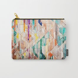 Pastel Tile Mosiac 1 Carry-All Pouch