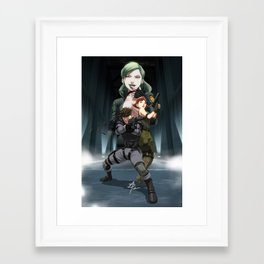 You're my special prey Framed Art Print