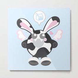 Bunbun Cow Metal Print