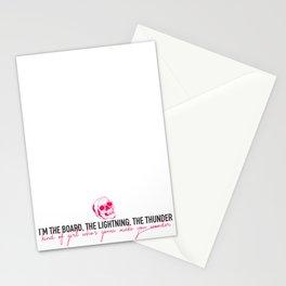 THUNDER. Stationery Cards