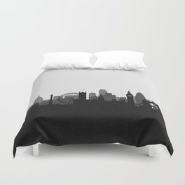 City Skylines: London Duvet Cover